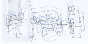 Tim Berne's Snakeoil. Matt Mitchell, Oscar Noriega, Ches Smith, Tim Berne. 12. i. 13